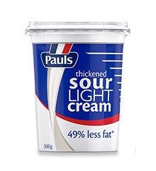 Pauls Sour Light Cream