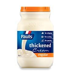 Pauls Thickened Cream