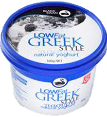 Yoghurt Greek (6) Black Swan