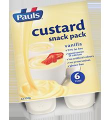 Custard Snack Pk Vanilla