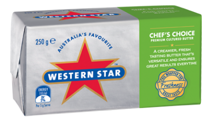 Western Star Butter Chef's Choice Unsalted