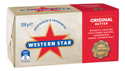 Western Star Butter Salted